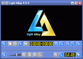 Light Alloy 4.5.5, скин XP.Blue